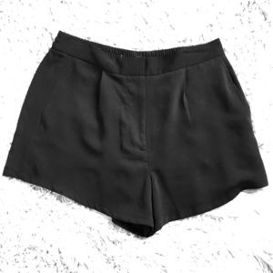 Sexy black shorts